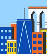 Illustration of New York skyline